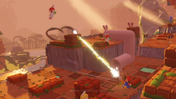 Mario Rabbids Kingdom Battle jagatplay part 1 (98)