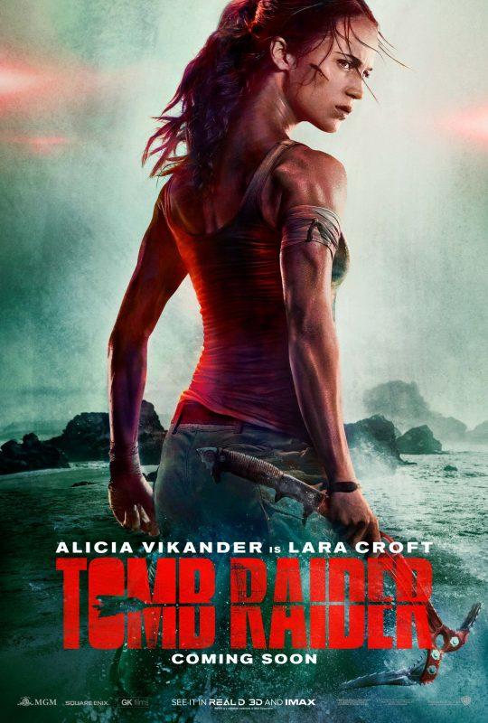 Akan melepas trailer penuhnya besok, film adaptasi Tomb Raider berbagi teaser 15 detik dan poster utama yang akan ia usung.