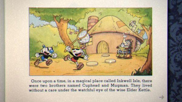 Alkisah, hiduplah dua sosok karakter dengan kepala cangkir - Cuphead dan Mugman.