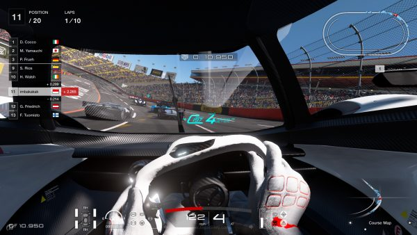 Hasil gambar untuk gran turismo sport screenshot gameplay driving seat