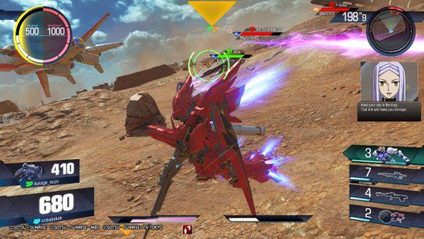 Gundam dibagi ke dalam kategori sesuai dengan seri animenya. Berkisar dari 200-500, ia tidak hanya merepresentasikan kekuatan, tetapi juga HP tim yang akan berkurang jika mereka tewas.