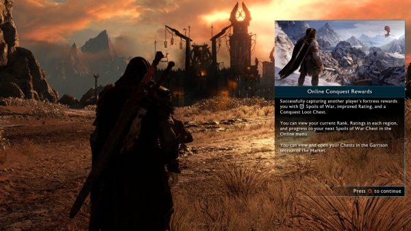 Shadow of War juga menyediakan mode online yang cukup menarik.