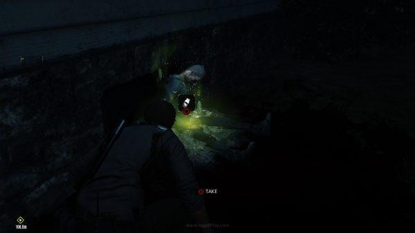 Setiap Lost yang Anda bunuh mungkin menjatuhkan Green Gel - resource untuk memperkuat Sebastian.