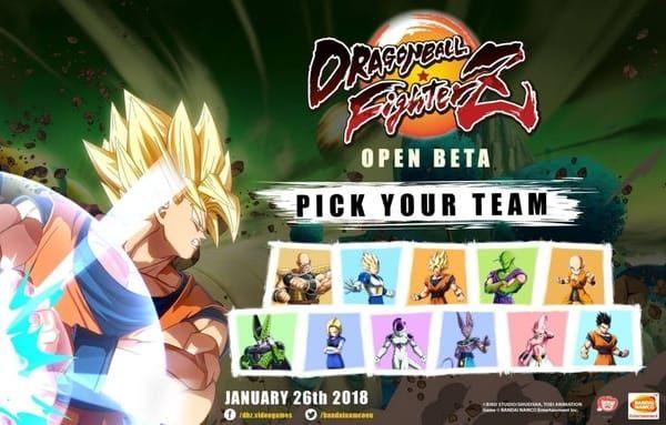 db fighterz open beta