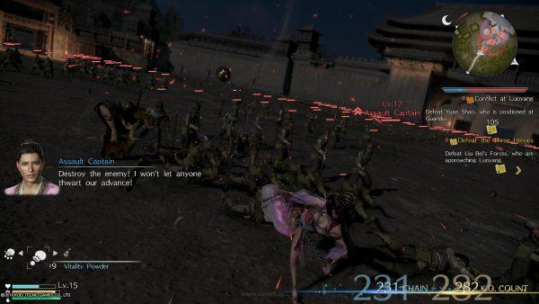 Dynasty Warriors 9 part 1 jagatplay 105