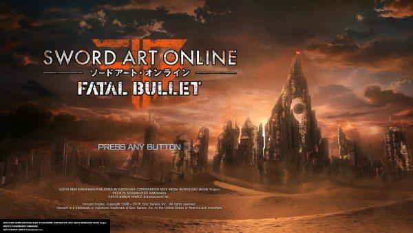 SAO Fatal Bullet jagatplay part 1 2