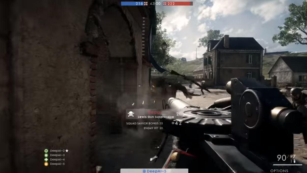 battlefield 1 ai