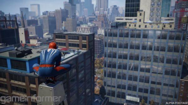 spiderman game informer