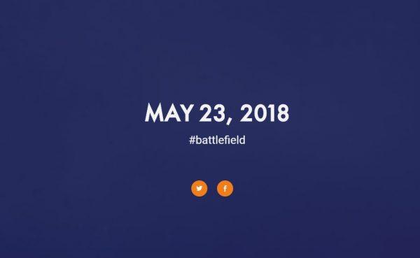 battlefield v announcement