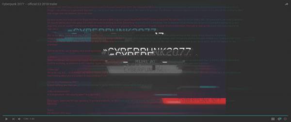 cyberpunk 2077 secret message