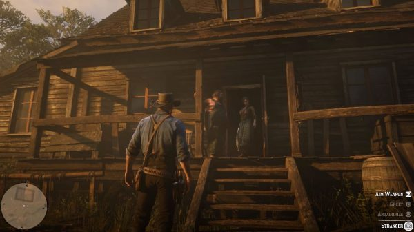 RDR2 new gameplay8