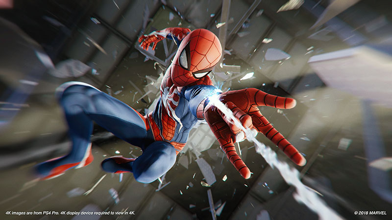 Spider Man PS4 Preview Glass 1