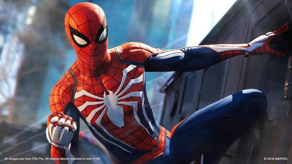 Spider Man PS4 Preview Side