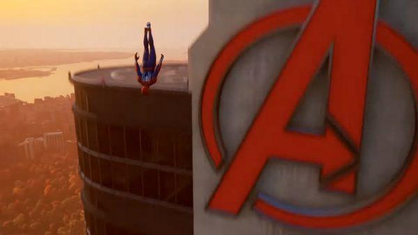 marvel spiderman location avengers 1