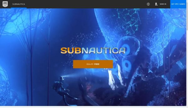 epic games subnautica