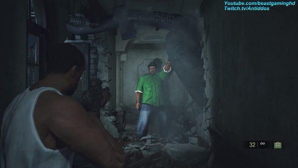 RE2 Remake mod GTA SA