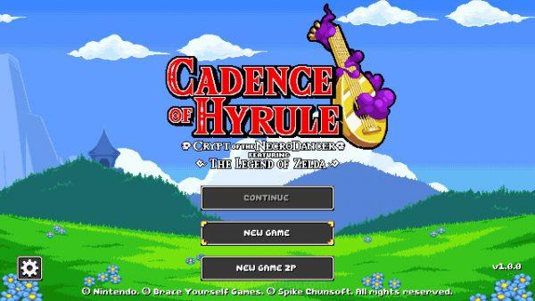 Cadence of Hyrule jagatplay 1