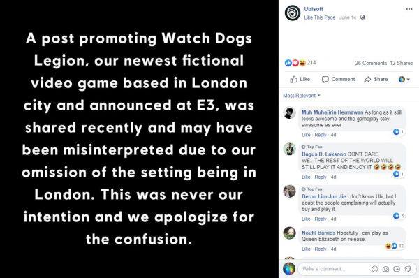 watch dogs legion sorry