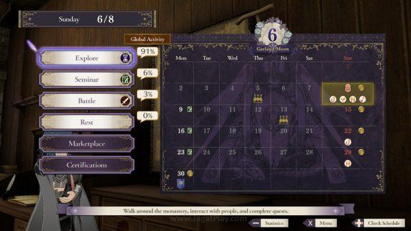 Fire Emblem Three Houses jagatplay PART 1 76