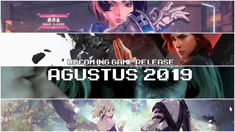 upcoming game release agustus 2019