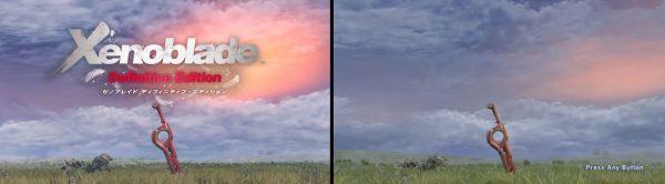 xenoblade chronicles comparison
