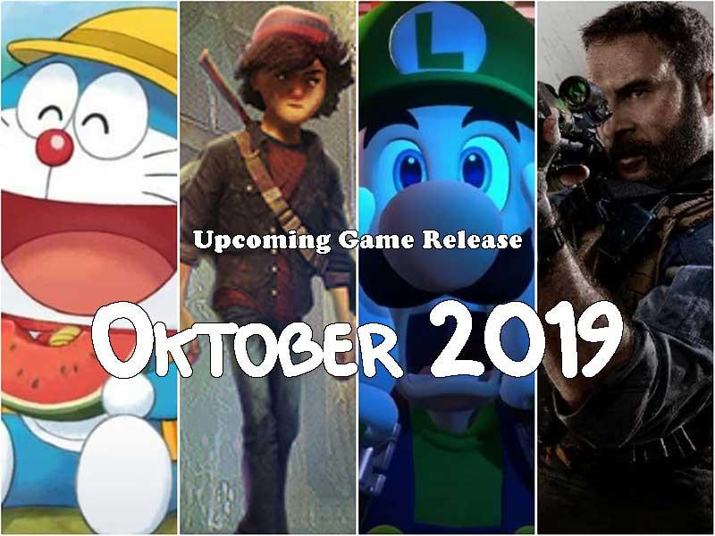 upcoming game release oktober 2019