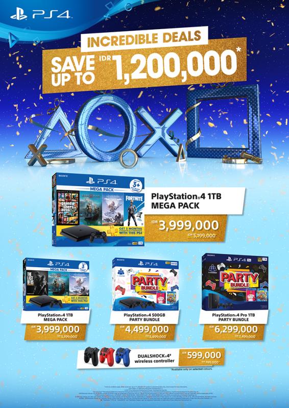 3. Promo PlayStation Incredible Deals untuk Hardware