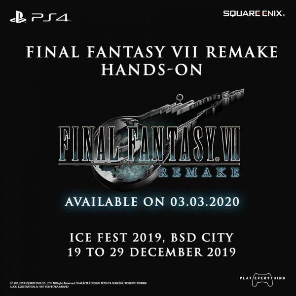 FF VII remake demo