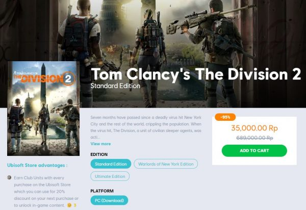 the division 2 35k