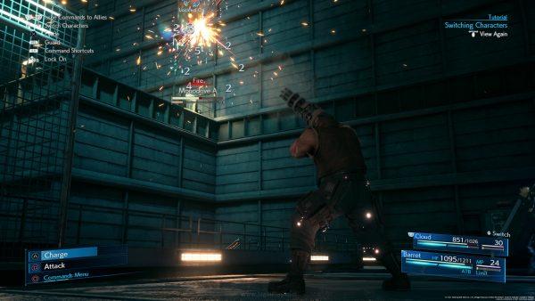 Final Fantasy VII Remake DEMO jagatplay 37