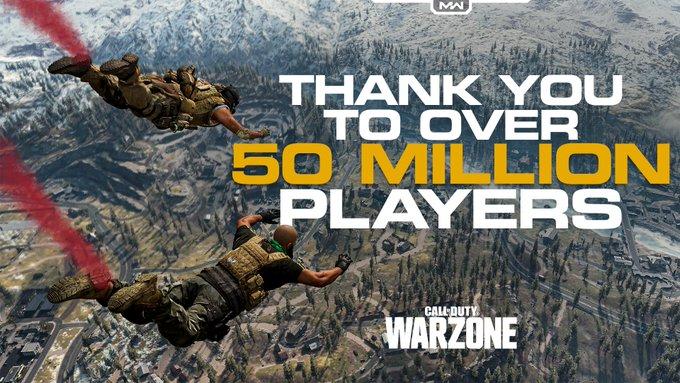 50 mil cod warzone