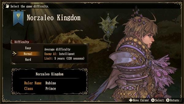 norzaleo kingdom brigandine