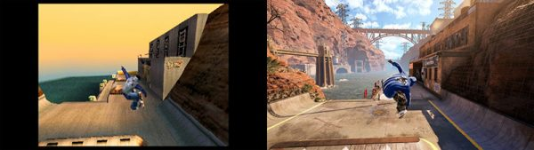 Tony Hawks Pro Skater 12 Reveal Screenshot Kareem Campbell Before and After