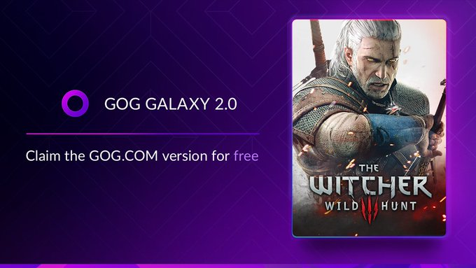 gog galaxy 2 the witcher 3