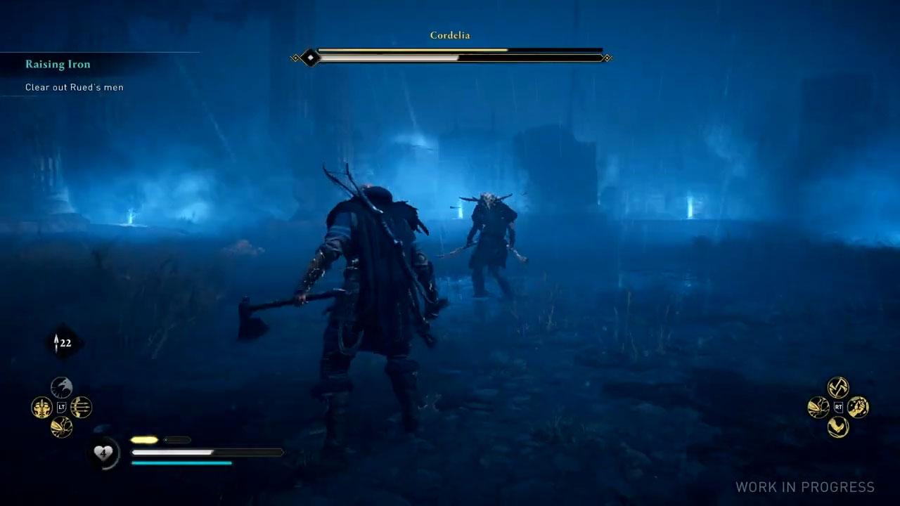 AC Valhalla boss battle 1