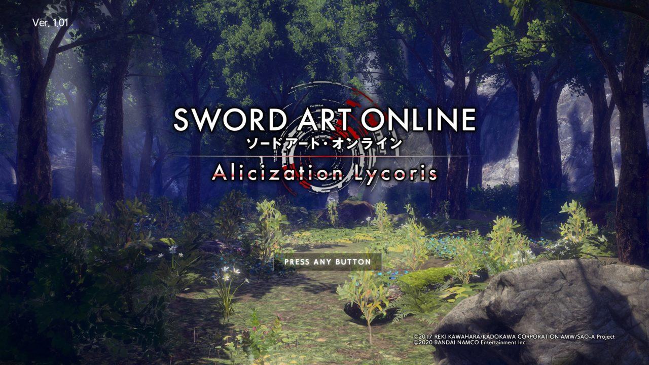 SAO Alicization Lycoris jagatplay part 1 1 1