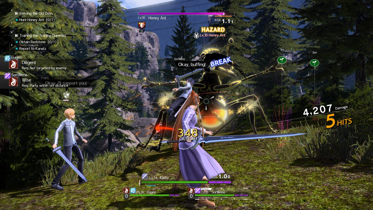 SAO Alicization Lycoris jagatplay part 1 59