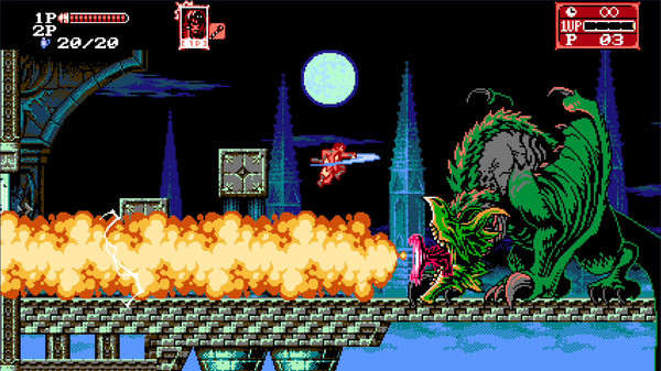 bloodstained cursed of the moon 2