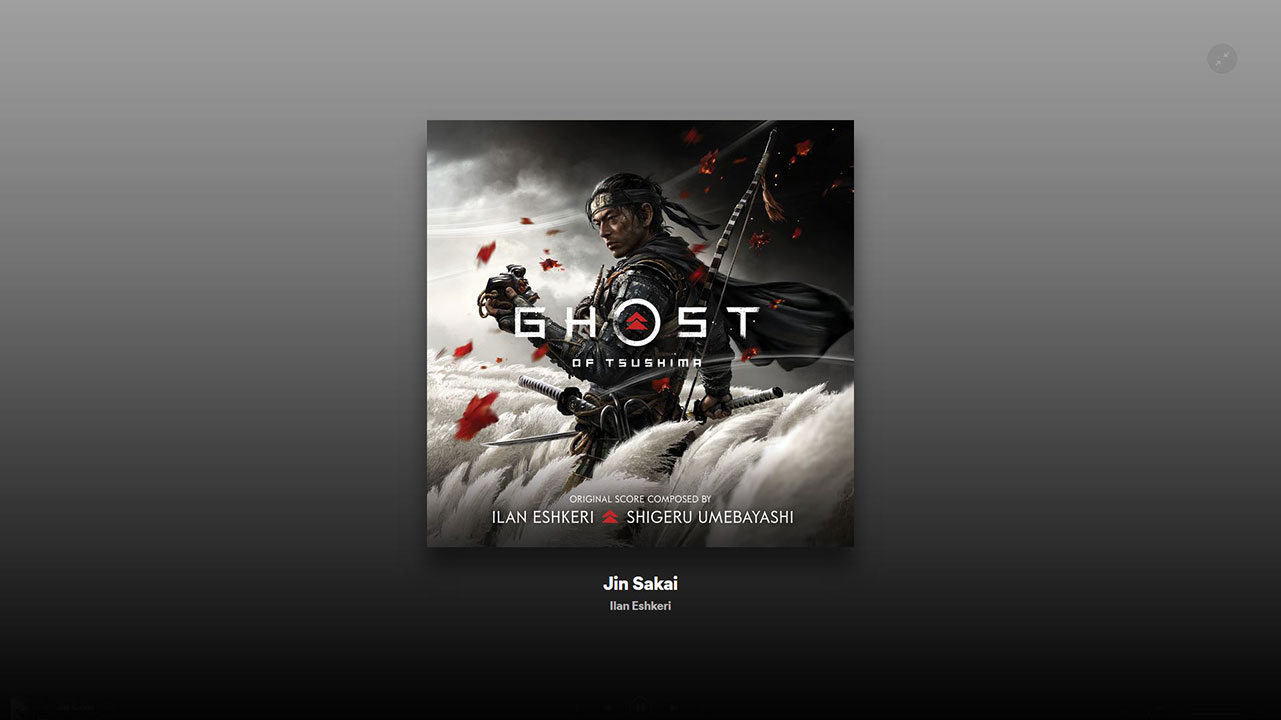 ghost of tsushima ost 1
