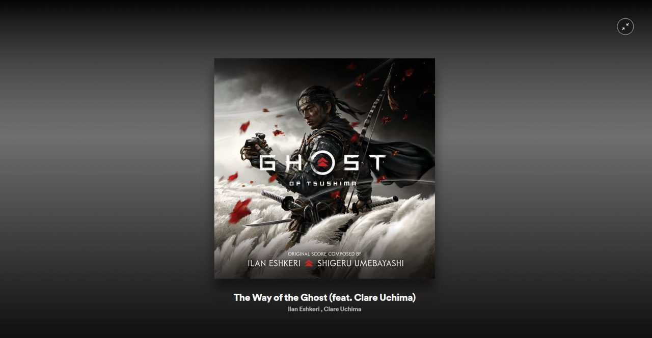 ghost of tsushima ost