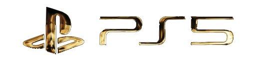ps5 gold logo