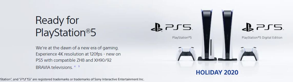 ready for playstation 5