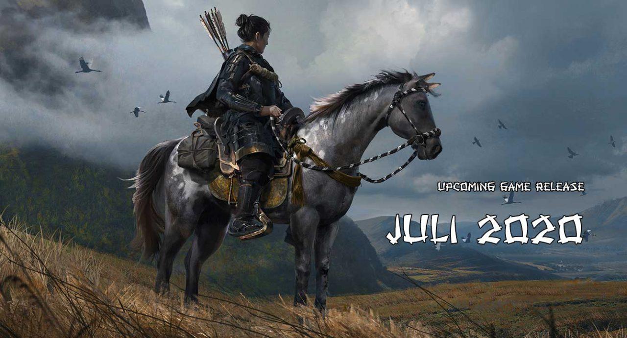 upcoming game release juli 2020