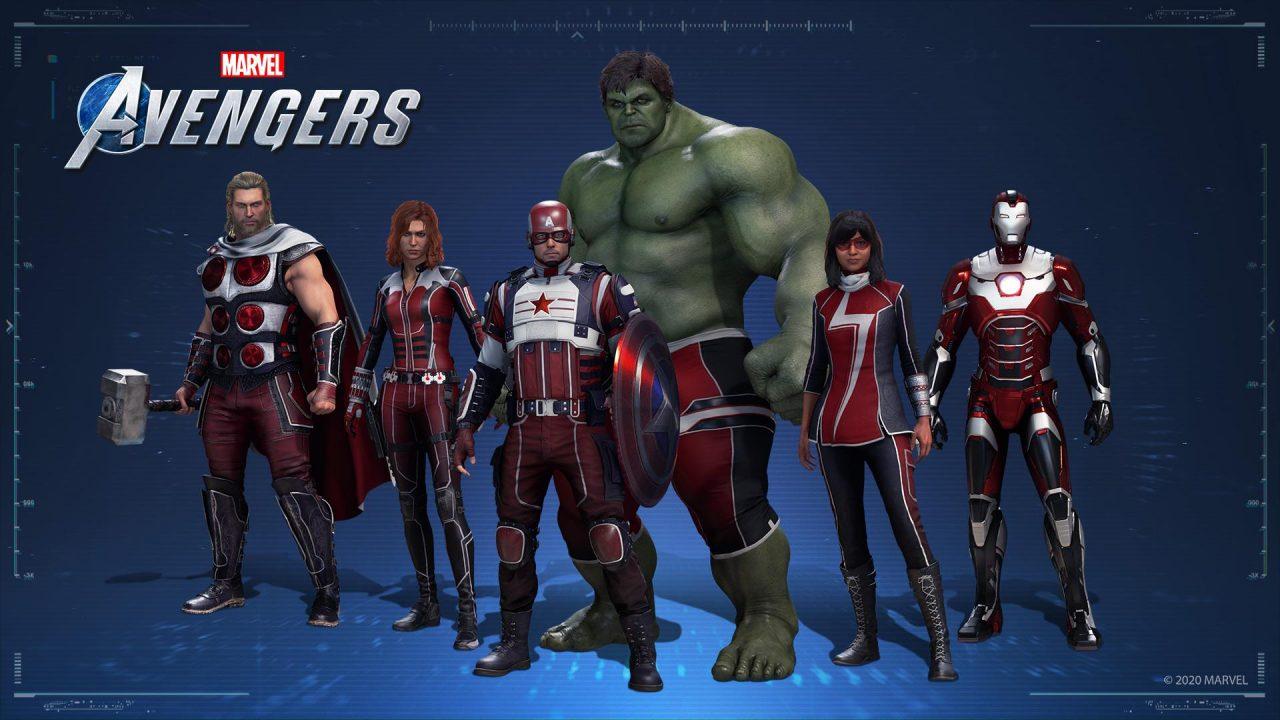 skin marvels avengers1