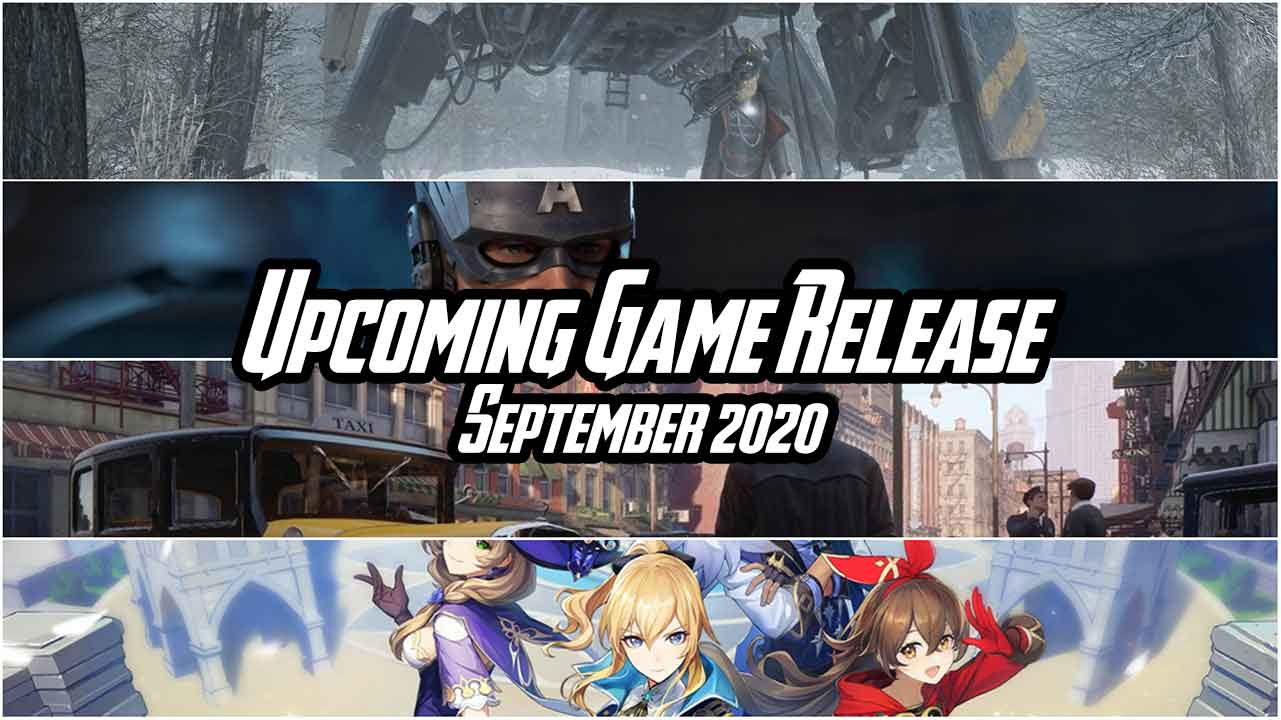 upcoming game release september 2020