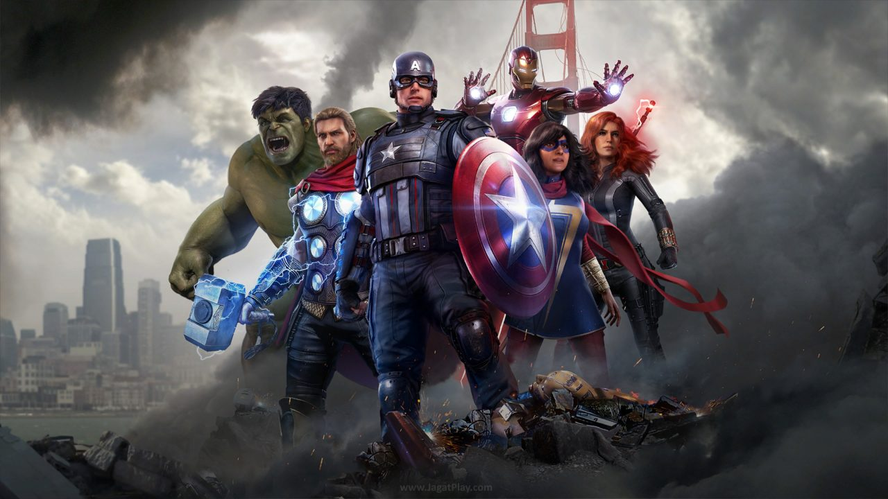 Marvels Avengers jagatplay part 1 1 1