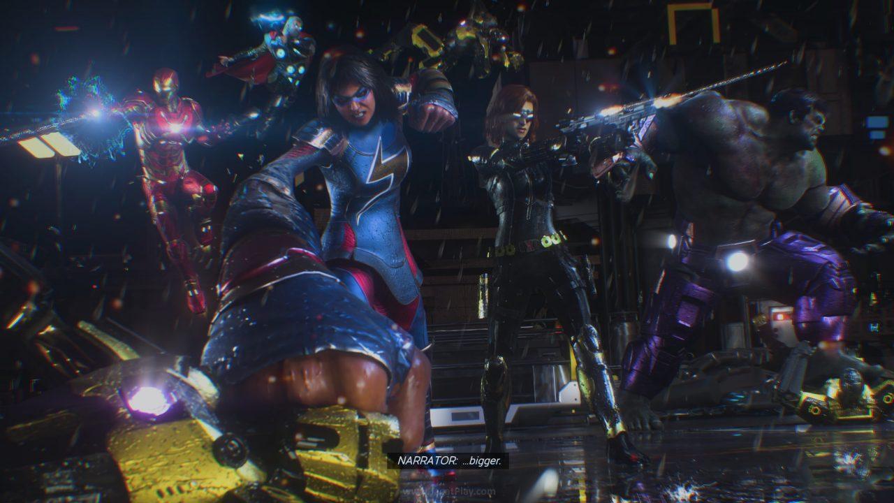 Marvels Avengers jagatplay part 1 4