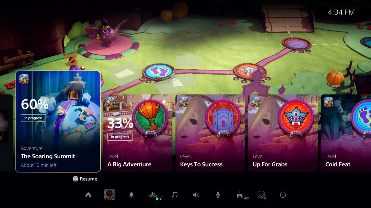 PS5 User Interface 4