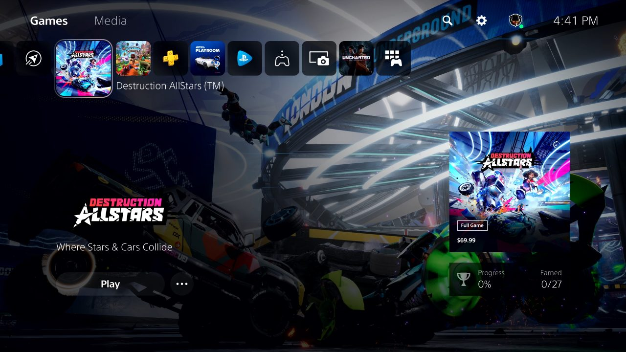PS5 User Interface 7