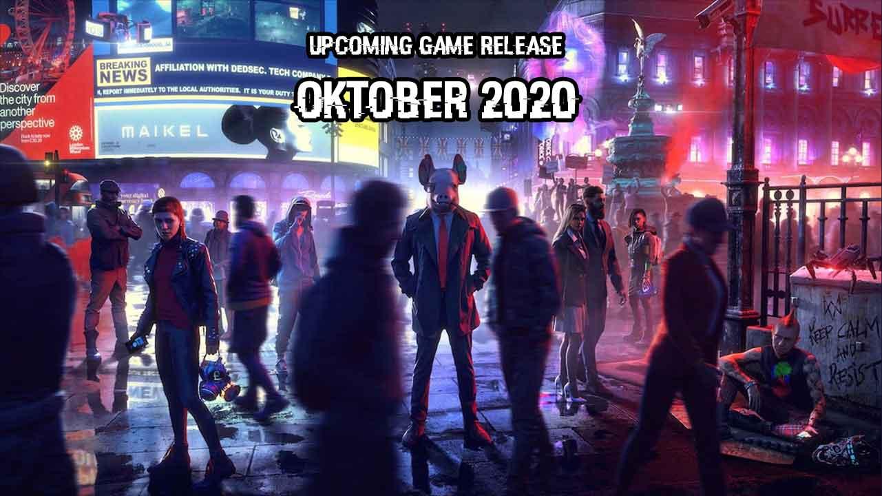 upcoming oktober 2020j